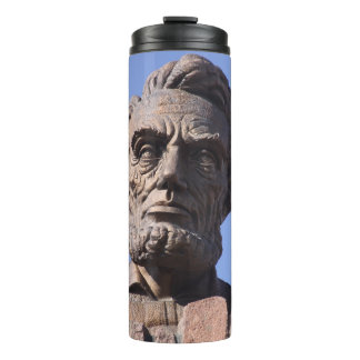Abe Lincoln Thermal Tumbler