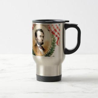 Abe oval travel mug