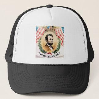 Abe oval trucker hat