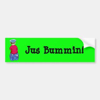 Abe R Doodle Bumper Sticker