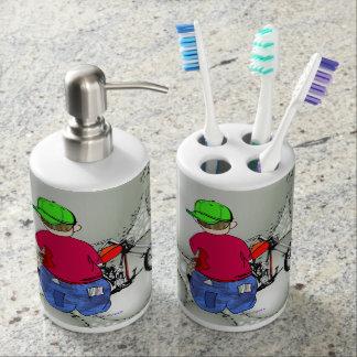 Abe R Doodle - EZ Ryda Bathroom Set