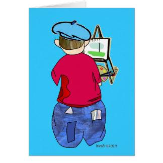 Abe R Doodle - Zee Artiste Card