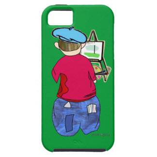 Abe R Doodle - Zee Artiste iPhone 5/5S Case