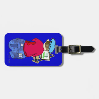 Abe R Doodle - Zee Artiste Luggage Tags