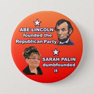 Abe & Sarah 7.5 Cm Round Badge