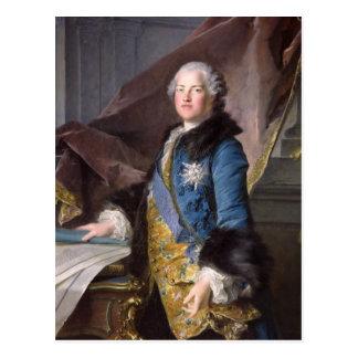 Abel Francois Poisson  Marquis de Marigny, 1755 Postcard