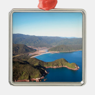 Abel Tasman National Park coastal paradise Metal Ornament