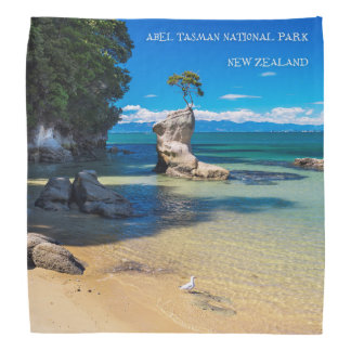 Abel Tasman National Park, New Zealand bandana