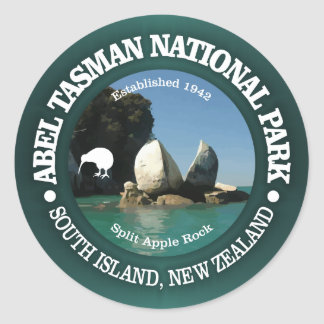 Abel Tasman NP Classic Round Sticker
