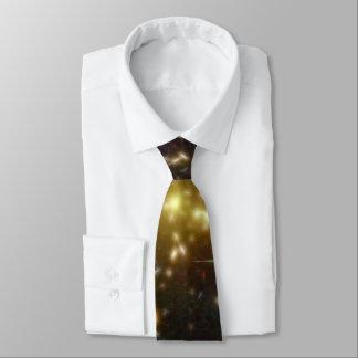 Abell 1689 galaxy gold stars NASA Tie