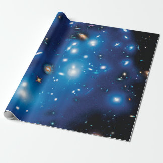 Abell 2744 Pandora Galaxy Cluster Space Photo Wrapping Paper