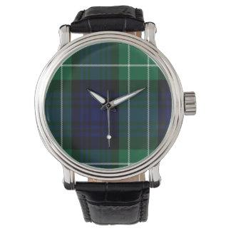 Abercrombie Scottish Tartan Watch