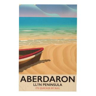 Aberdaron, Llŷn Peninsula Wales seaside poster