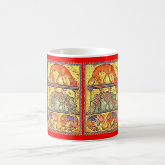 Aberdeen Bestiary Creation of the Dogs CUP Basic White Mug
