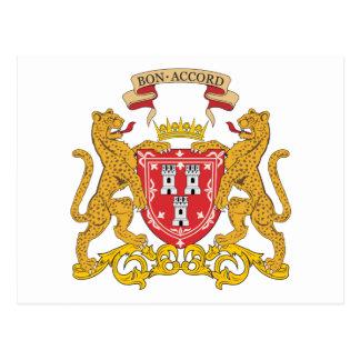 Aberdeen Coat Of Arms Postcard