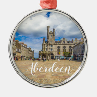 Aberdeen, Customise Product Metal Ornament
