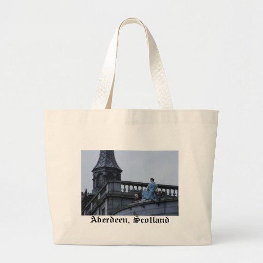 Aberdeen, Scotland Canvas Bags