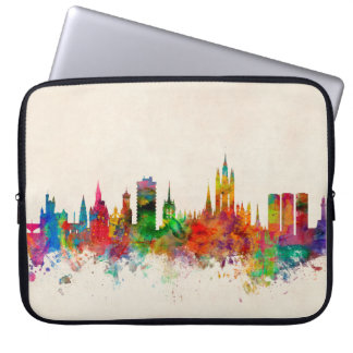 Aberdeen Scotland Skyline Laptop Sleeve
