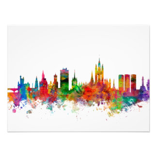 Aberdeen Scotland Skyline Photo Print
