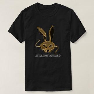 "Aberrant Hare T-Shirt – Silver ""Still Not Amused"""