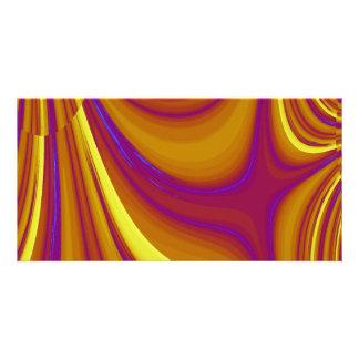 Aberrations Fractal Photo Card