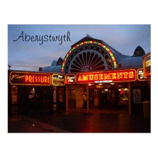 Aberystwyth Pier Postcard