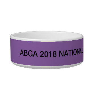 ABGA 2018 National Specialty . A Walk In The Park Bowl