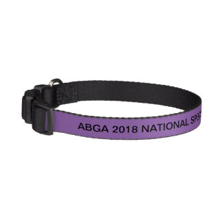 ABGA 2018 NATIONAL SPECIALTY . A Walk In The Park Pet Collar