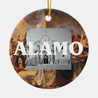 ABH Alamo Ceramic Ornament