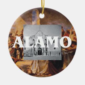 ABH Alamo Round Ceramic Decoration