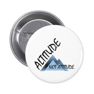 ABH Altitude Not Attitude Pinback Button