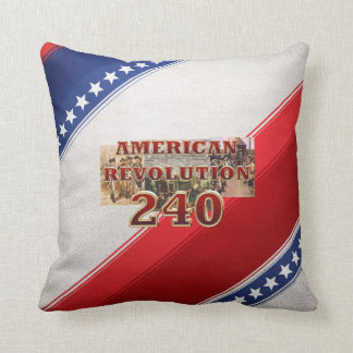 ABH American Revolution 240th Anniversary Throw Pillow