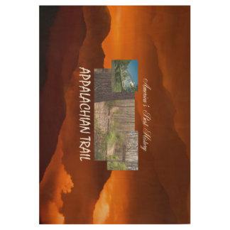 ABH Appalachian Trail Wood Poster