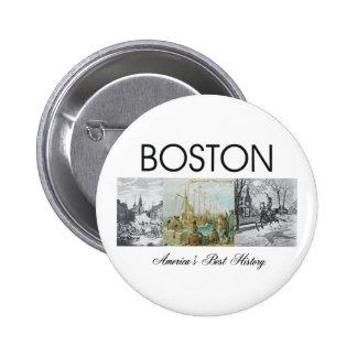 ABH Boston Pinback Button
