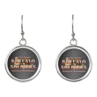 ABH Buffalo Soldiers Earrings