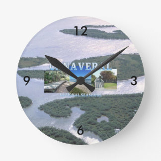 ABH Canaveral NS Round Clock