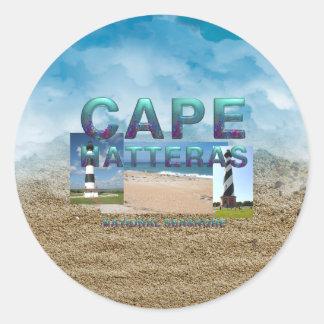 ABH Cape Hatteras Classic Round Sticker