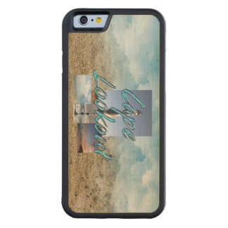 ABH Cape Lookout NS Carved Maple iPhone 6 Bumper Case