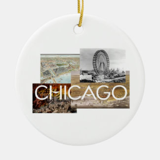 ABH Chicago Ceramic Ornament