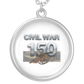 ABH Civil War 150th Anniversary Silver Plated Necklace