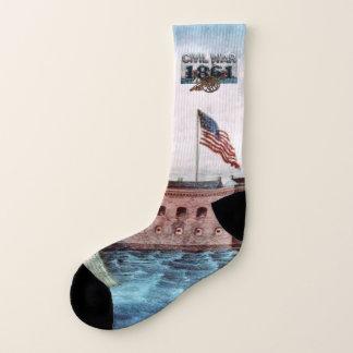 ABH Civil War 1861 Socks