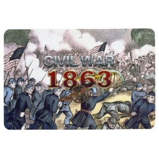ABH Civil War 1863 Floor Mat