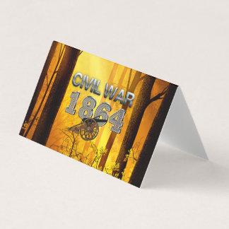 ABH Civil War 1864 Business Card