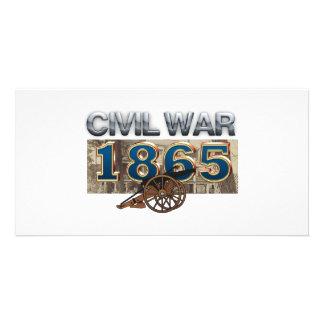 ABH Civil War 1865 Personalized Photo Card