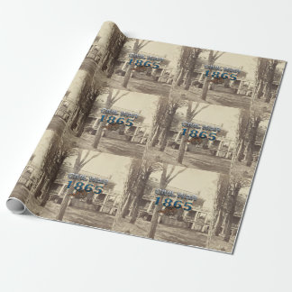 ABH Civil War 1865 Wrapping Paper