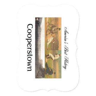 ABH Cooperstown 13 Cm X 18 Cm Invitation Card