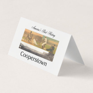 ABH Cooperstown Business Card