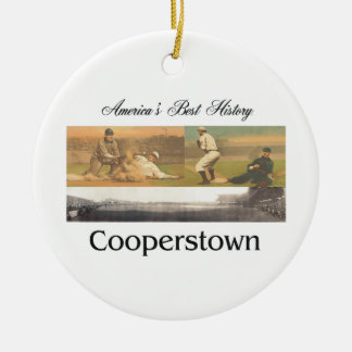 ABH Cooperstown Ceramic Ornament
