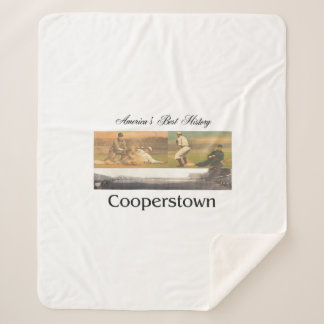 ABH Cooperstown Sherpa Blanket