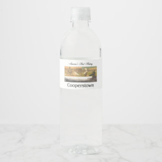 ABH Cooperstown Water Bottle Label